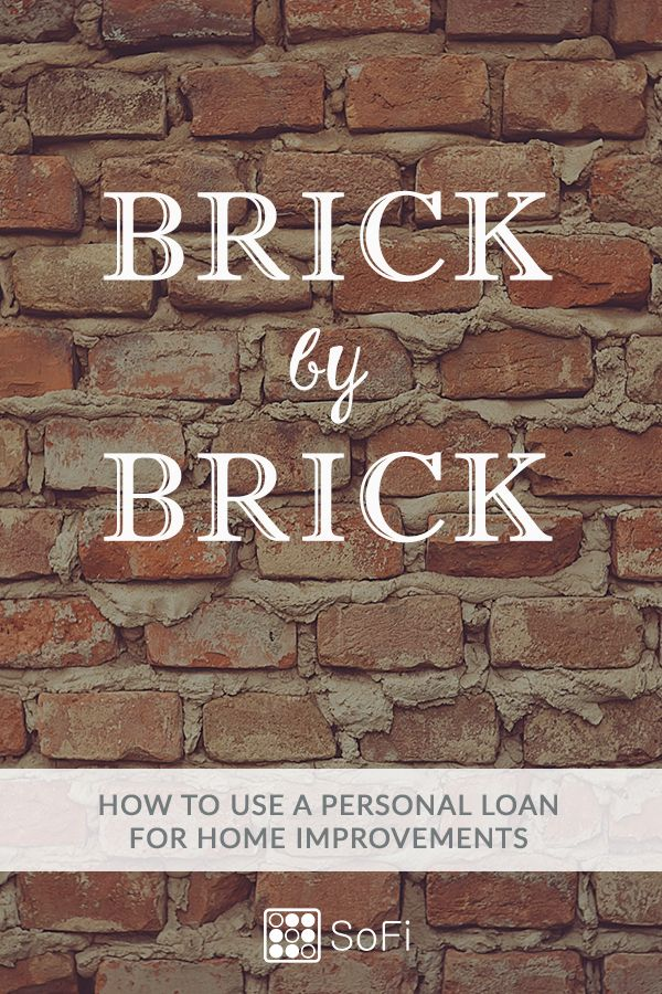 Personal Loan Or Home Equity Loan For Home Improvements Sofi Home Improvement Home Improvement Loans Home Renovation Loan