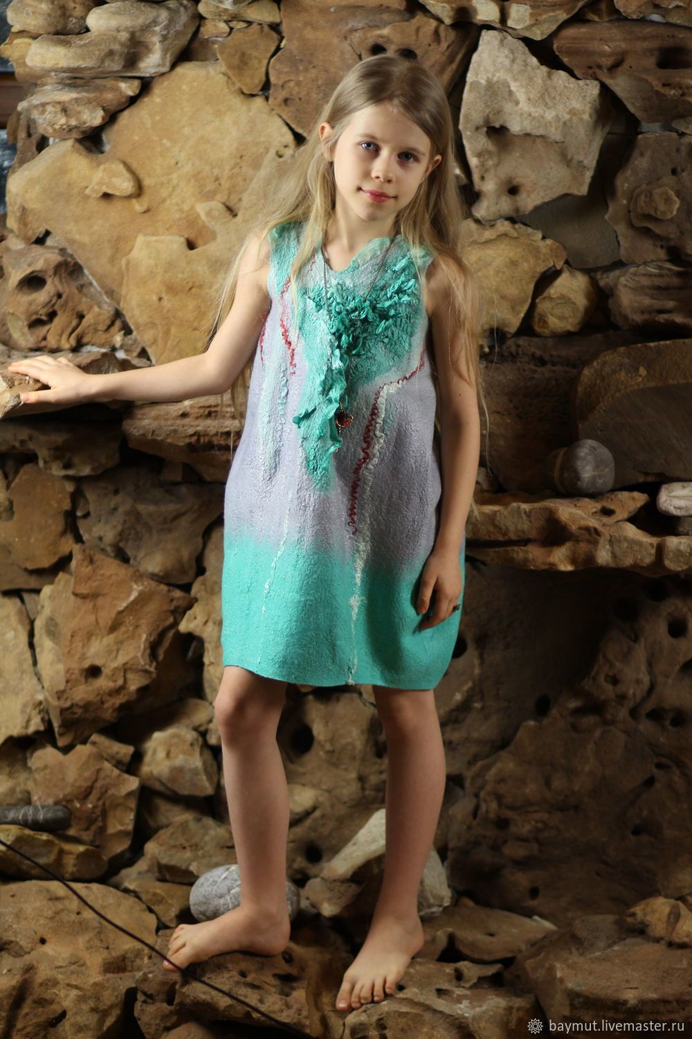 de26e3f63be Children s felted dress - balloon – shop online on Livemaster with shipping
