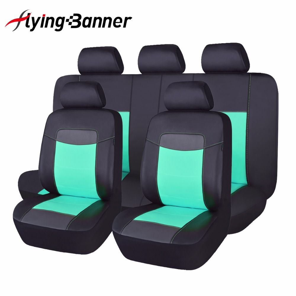 2017High Quality Leather Car Seat Cover Universal 8 Colors ...