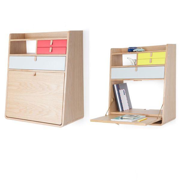 20 petits bureaux gain de place desks salons and bureaus - Bureau peu encombrant ...