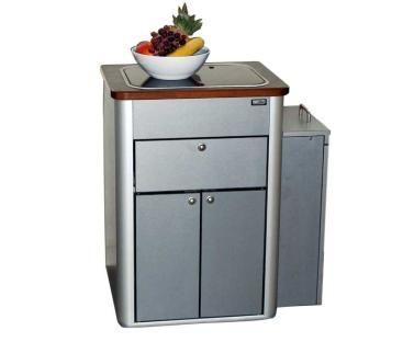 Bon VWT5 Multivan Pantry Küche, Fertigteil Mit Spüle, Glasabdeckung Und Technik