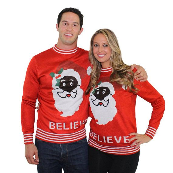 So fun! Mystery Christmas couples sweater. Totally just bought ...