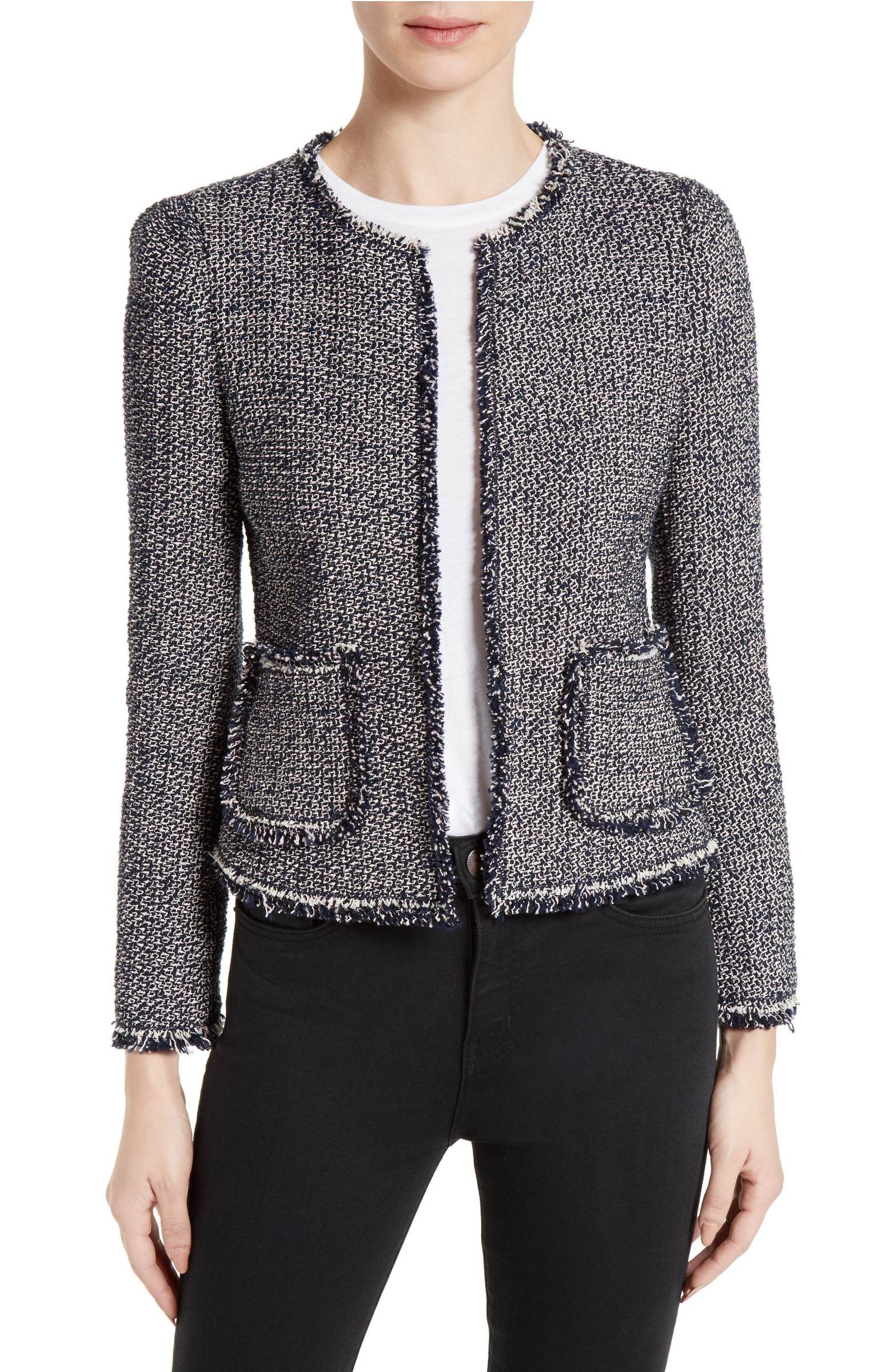 2749f1333 Main Image - Rebecca Taylor Confetti Tweed Jacket | Clothes and More ...