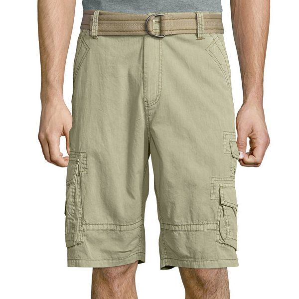 7f8941c57d Plugg® Cumberland Relaxed-Fit Lightweight Belted Twill Cargo Shorts -  JCPenney