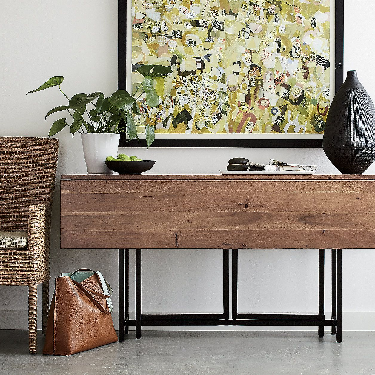 Origami Drop Leaf Rectangular Dining Table + Reviews