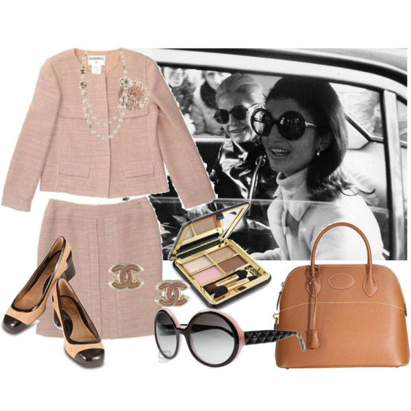 Jacqueline Kennedy Onassis, created by youmakemehappy7 on Polyvore  www.pinkpillbox.com