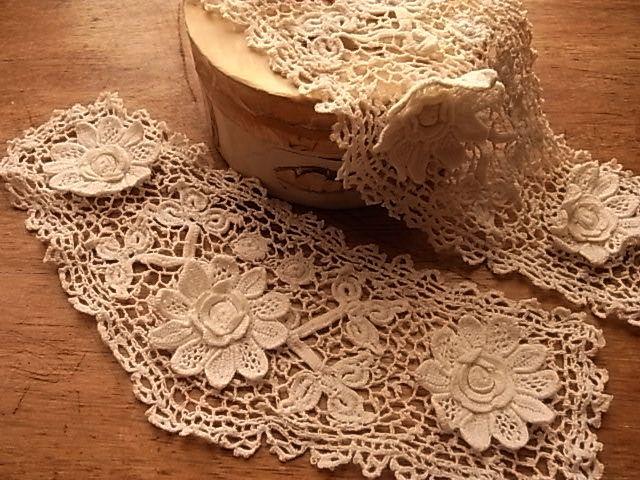 antique Irish crochet lace