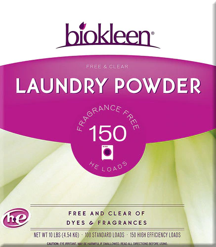 Biokleen Free And Clear Laundry Powder 10 Lbs With Images