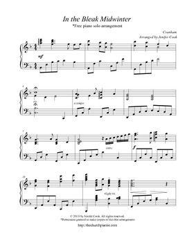free advanced christmas piano sheet music