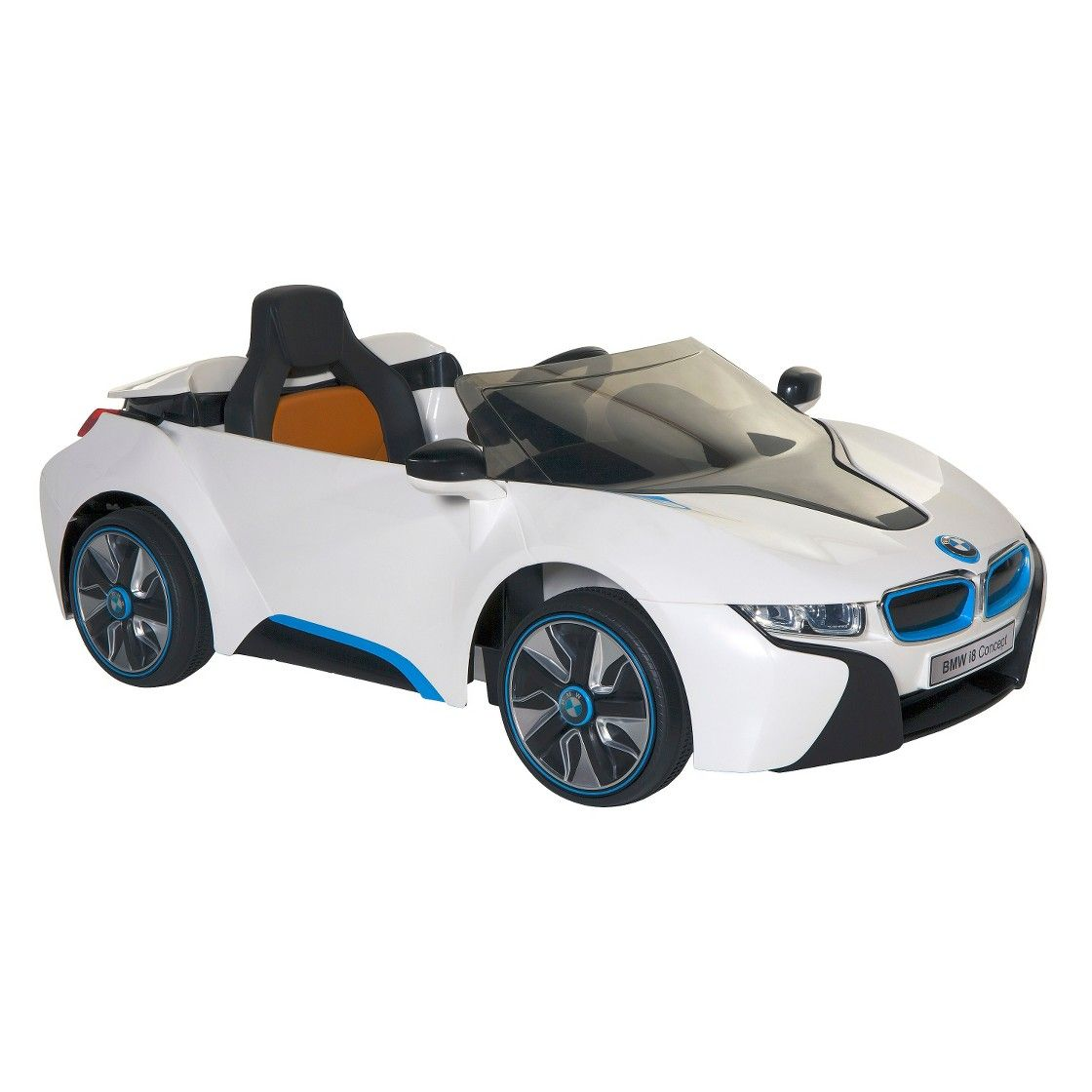 BMW Concept Electric Ride On Car, White/Black/Blue: Item   6 Volt BMW  Concept Electric Ride On Car. Enjoy A Fun Riding Experience On This BMW  Concept ...