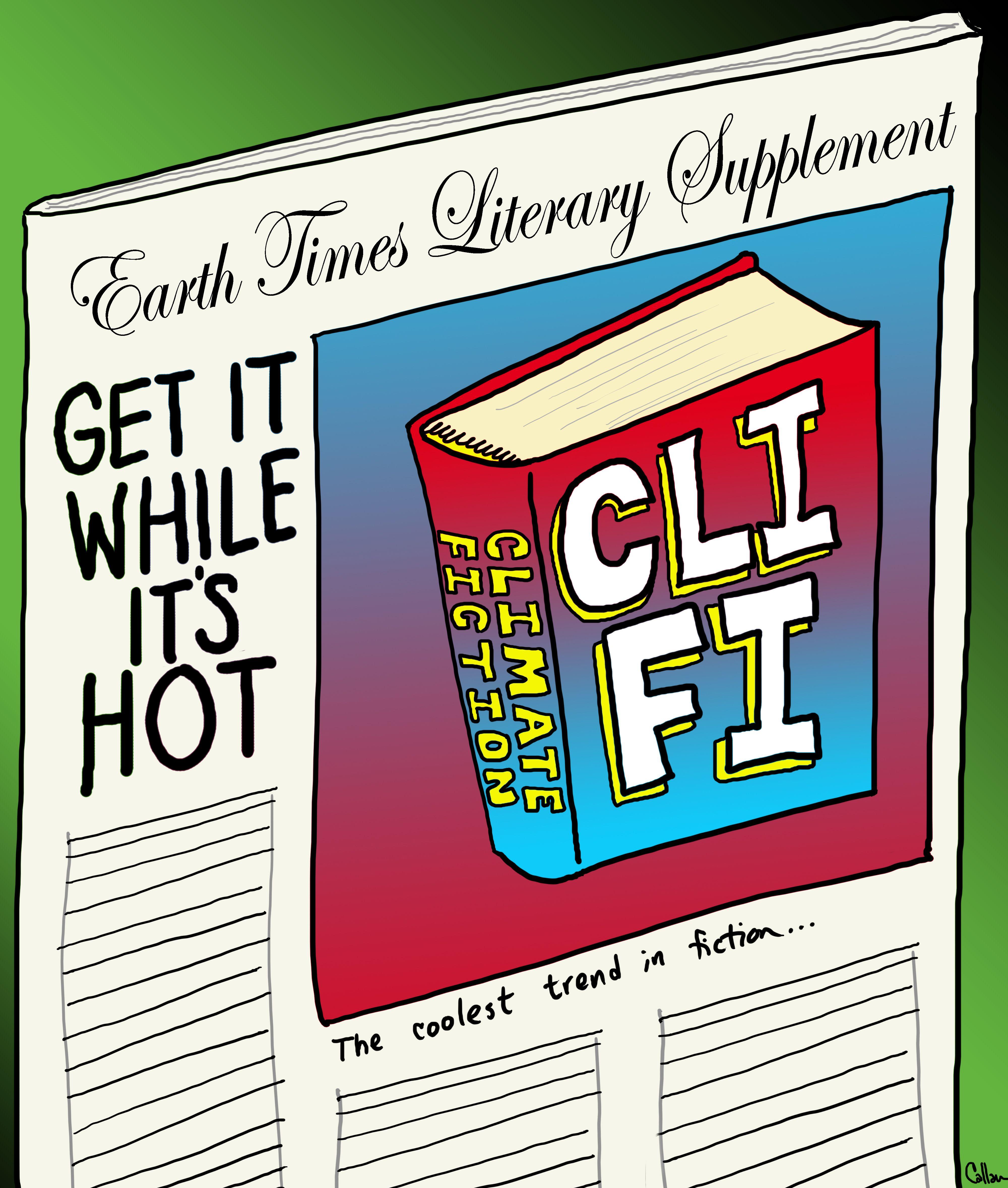 the beast of cretacea is cli fi climate fiction cute tagline