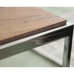 Photo of Gallery M Beistelltisch Toscana T1504 – grau – 38 cm – 68 cm – 38 cm – Tische > Beistelltische Galle