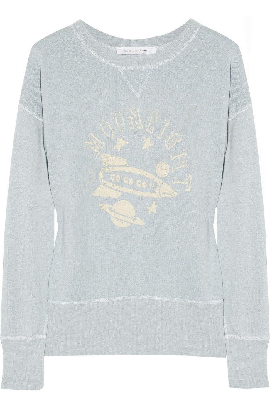 201 Toile Isabel Marant Noah Printed Jersey Sweatshirt