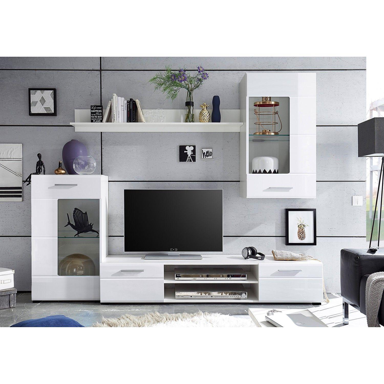 Wohnwand Marshall 4 Teilig In 2020 Wohnen Wohnzimmerschranke Und Wohnzimmer