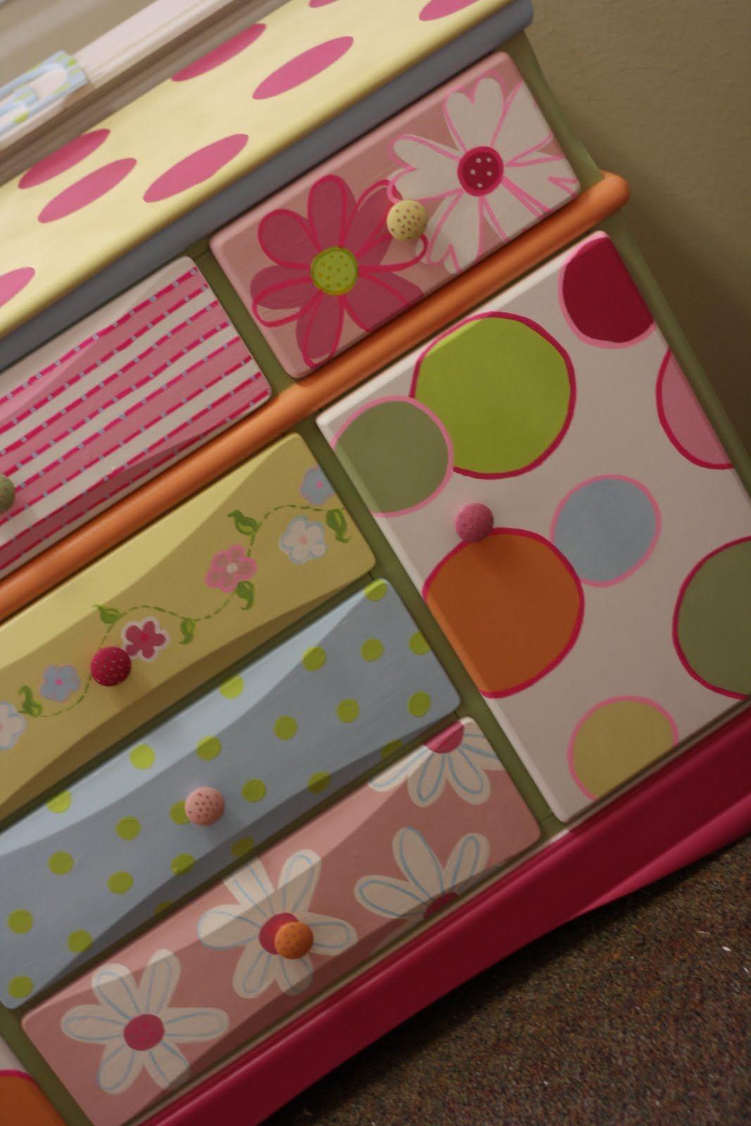 Sparkles: REESE's Headboard, Footboard, Dresser & Wall Letters