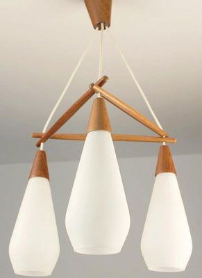eBay watch Danish three-drop pendant light & eBay watch: Danish three-drop pendant light | lighting | Pinterest ... azcodes.com