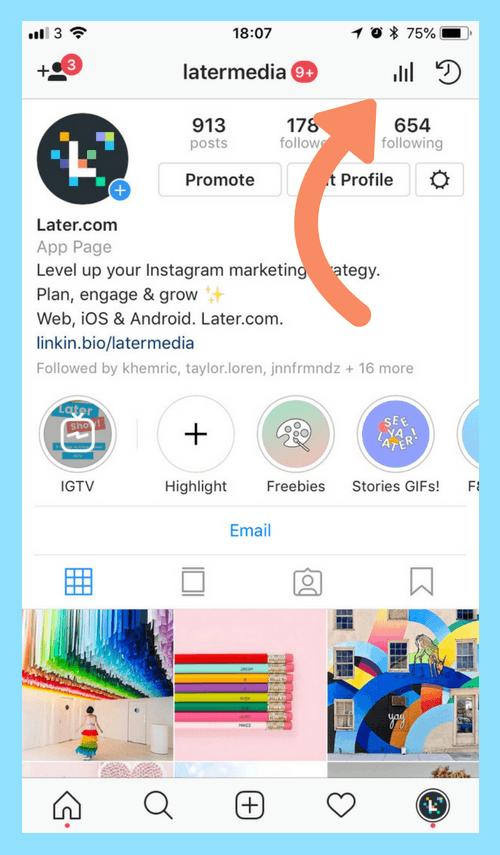 Understanding Instagram Analytics How To Grow Engagement Followers Instagram Insights Instagram Marketing Instagram Analytics
