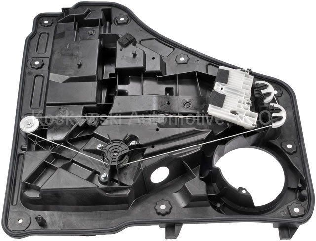 Power window motor and regulator assembly rear left fits for 04 jeep liberty window regulator