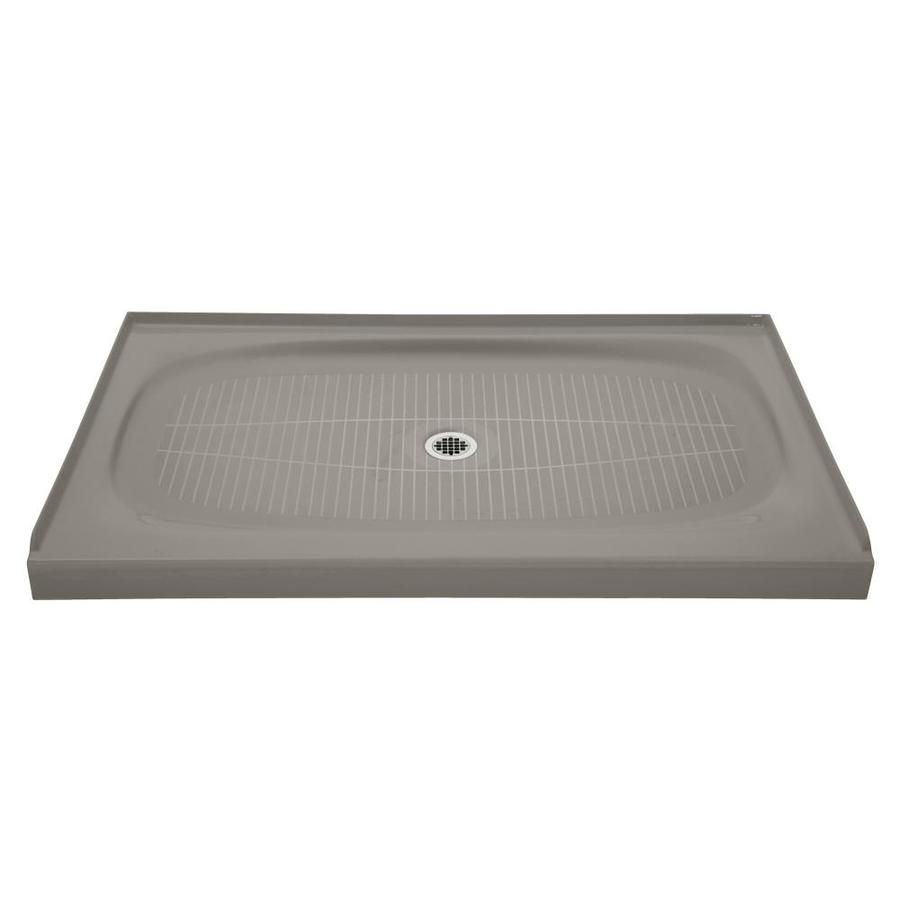 Kohler Salient Cashmere Cast Iron Shower Base 36 In W X 60 In L