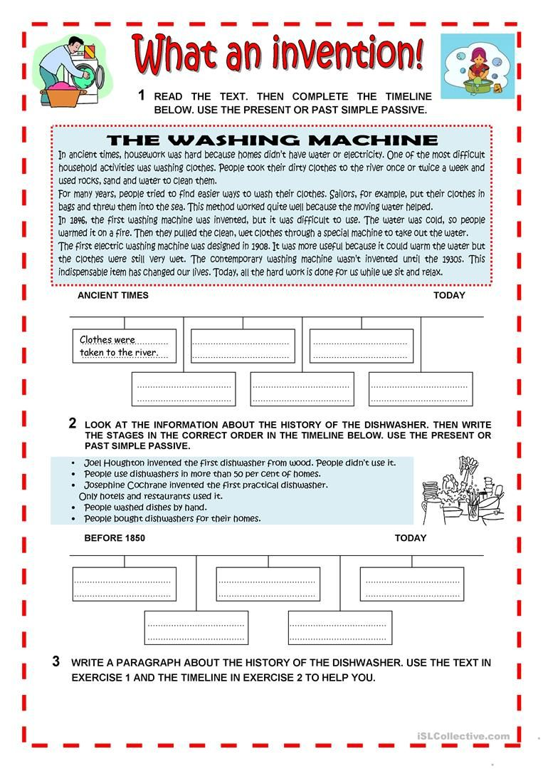 WHAT AN INVENTION worksheet - Free ESL printable worksheets made by teachers