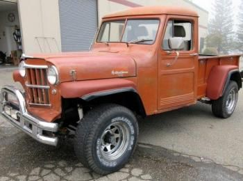 1960 Willys 4 X 4 Pickup Truck Vin 5526856790 Mileage Reads