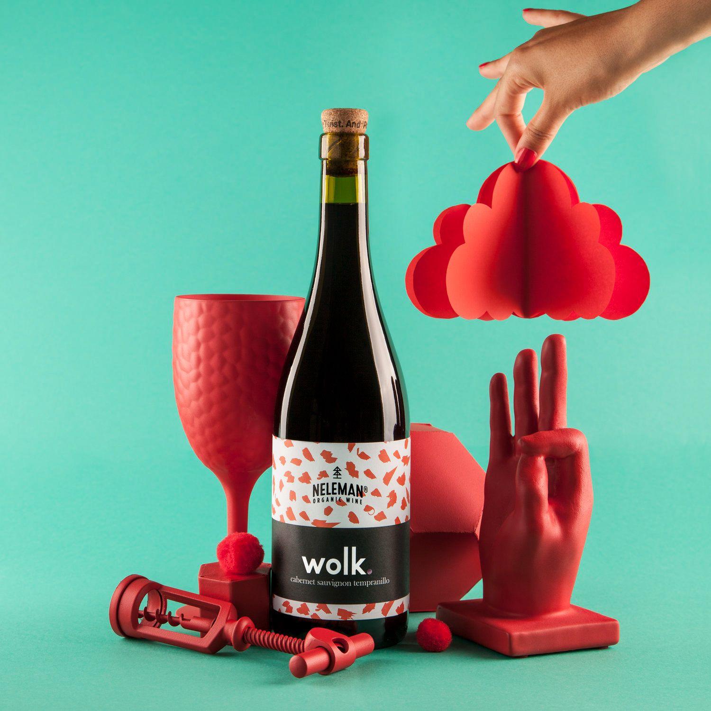 Wolk Wine Blog Logo Design Label Design Branding
