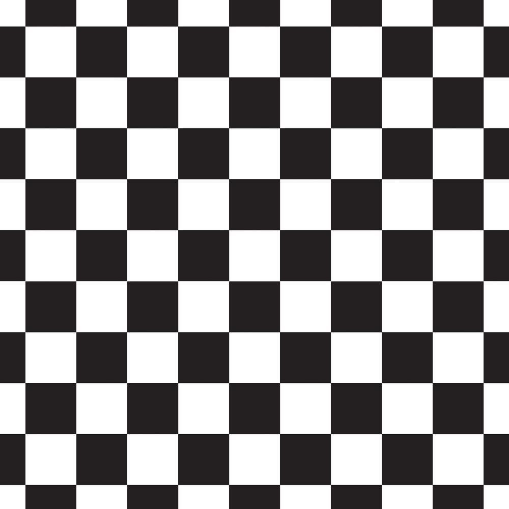 Sports Flag 8ft x 5ft Checkered Flag Large Black and White Flag