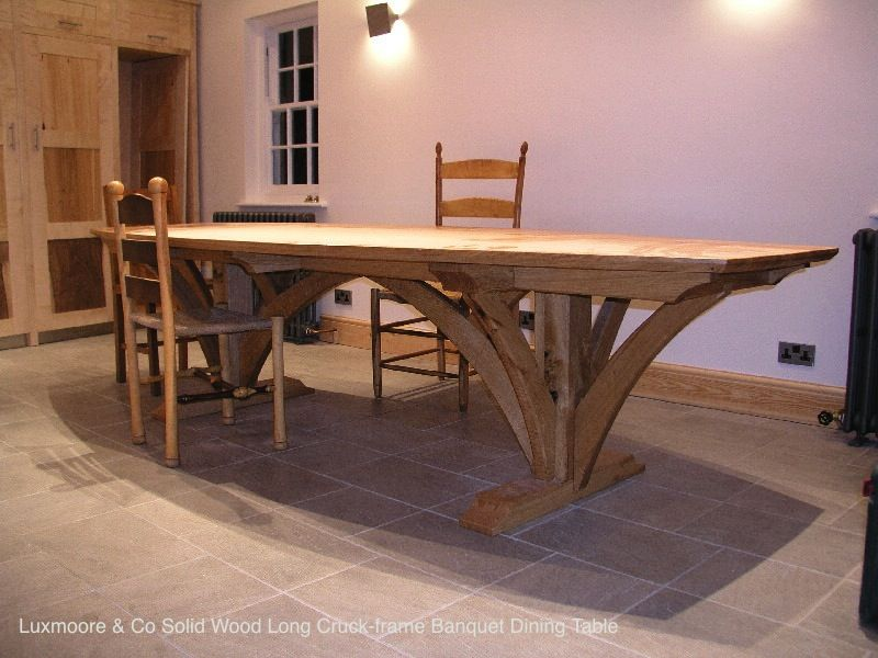 Massive Cruck Frame Table