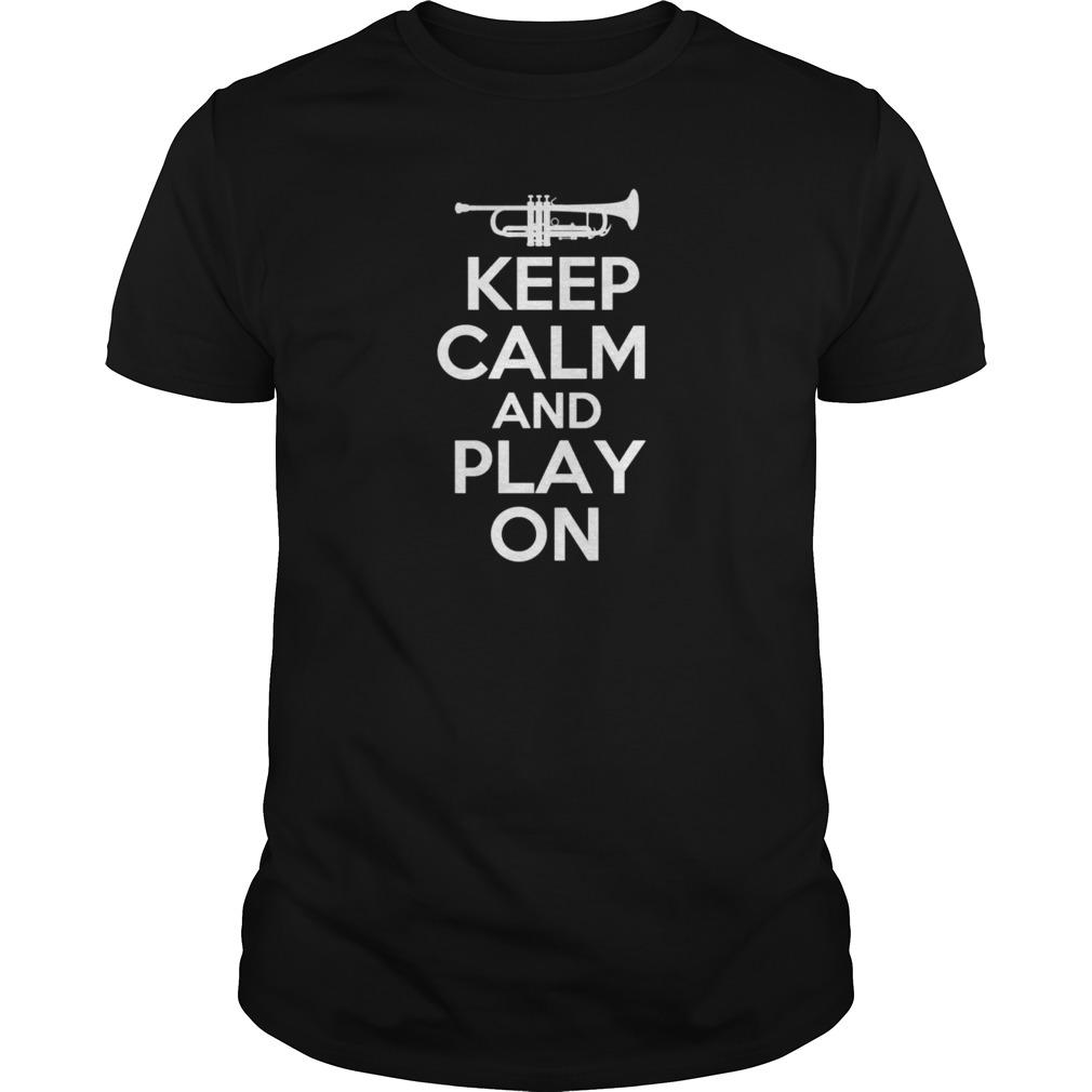 Keep calm trumpet  mens tshirtwmwkxqn shirt