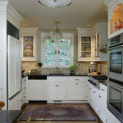 u shaped kitchens | Kitchen U-shaped Kitchen Design, Pictures, Remodel, Decor and ... | h ...