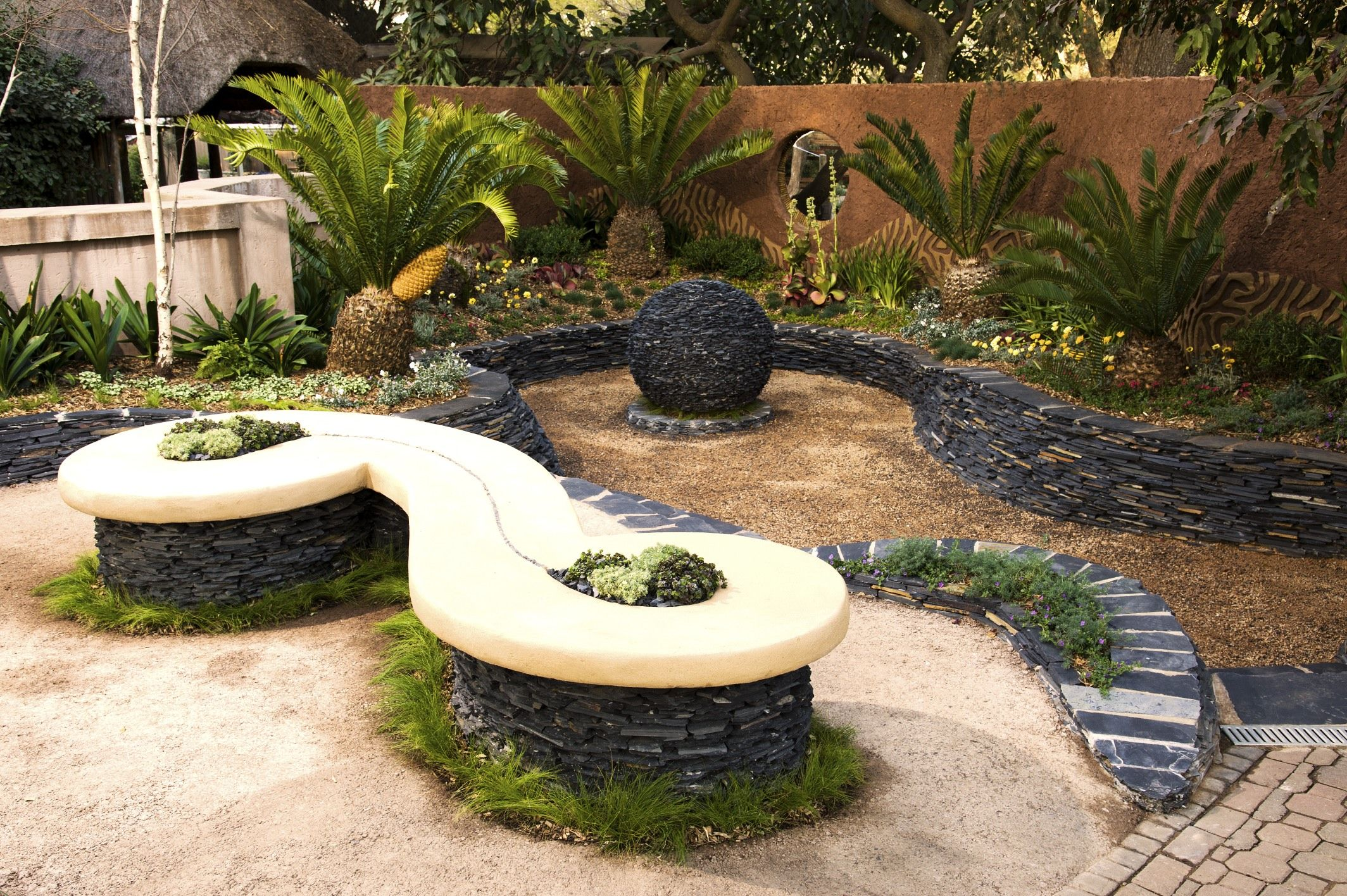2012 Show Garden - Sunken Cycad Garden