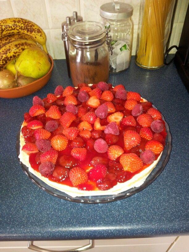 Mon chou cake