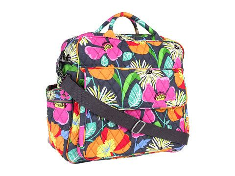 Vera Bradley Convertible Baby Bag Plum Crazy Zos Free Shipping Both Ways