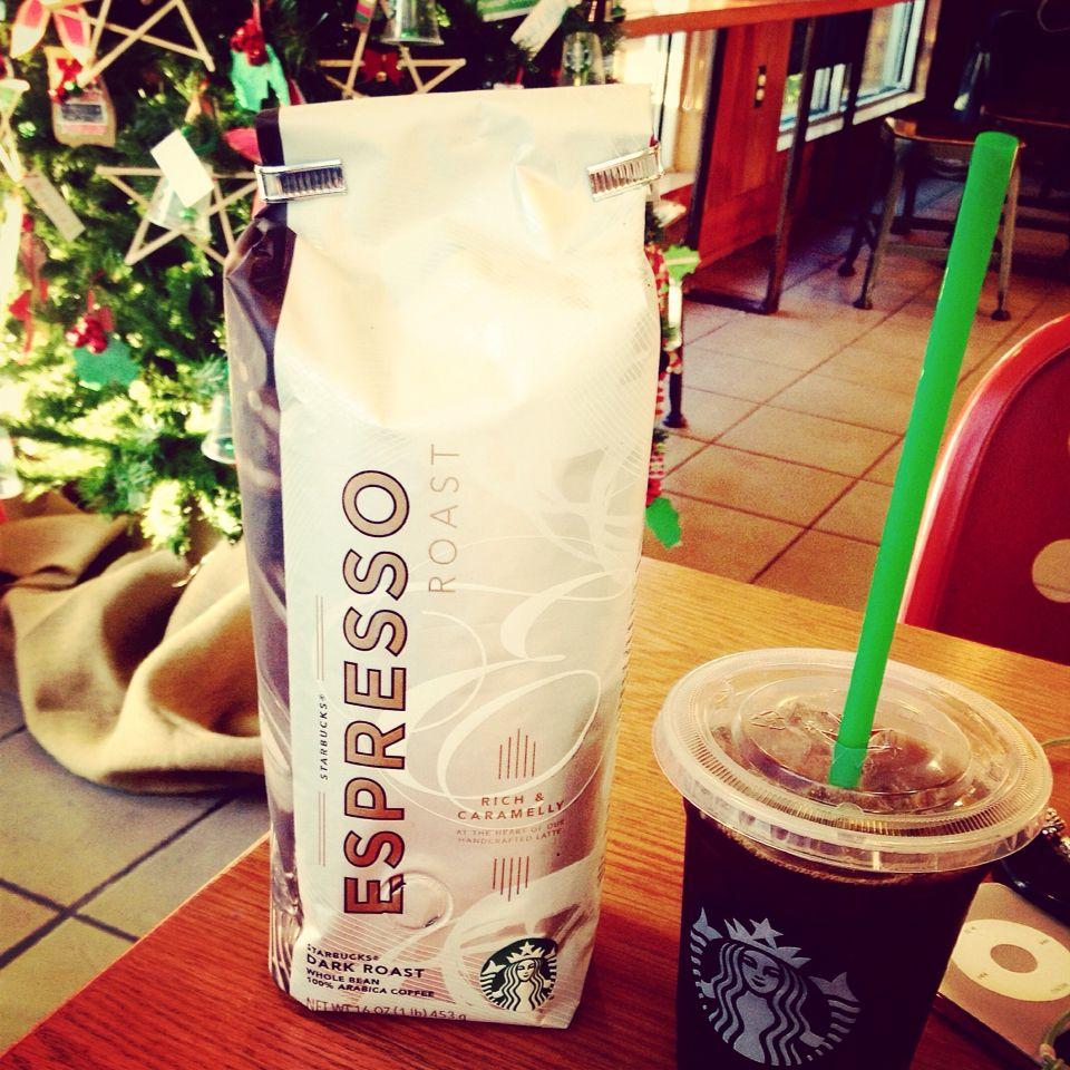 Soy Latte, Starbucks, Red Bull