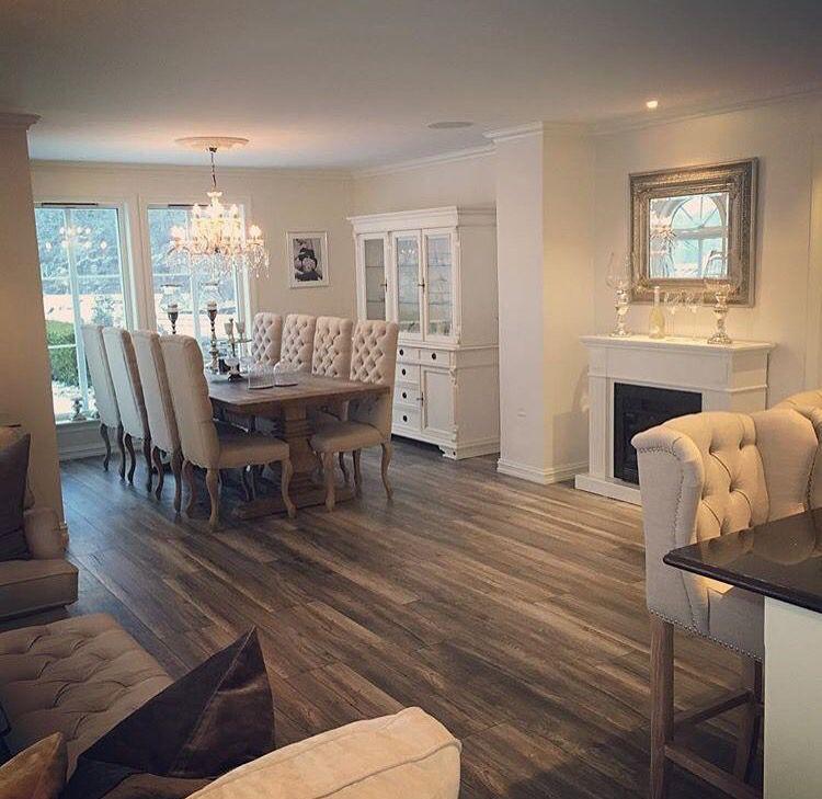 Vannah2399 u2020 haus Pinterest Esszimmer und Wohnzimmer - küchentisch mit barhockern