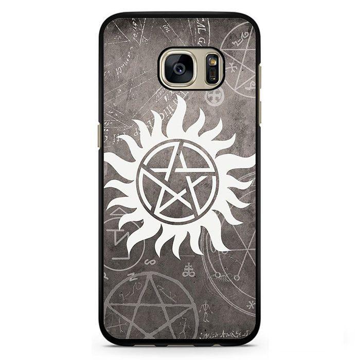 Supernatural Symbol Tv Series Phonecase Cover Case For Samsung