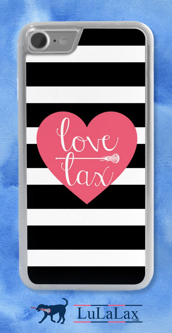 Love Lax and love your iPhone case! Choose from several different color and personalized options!