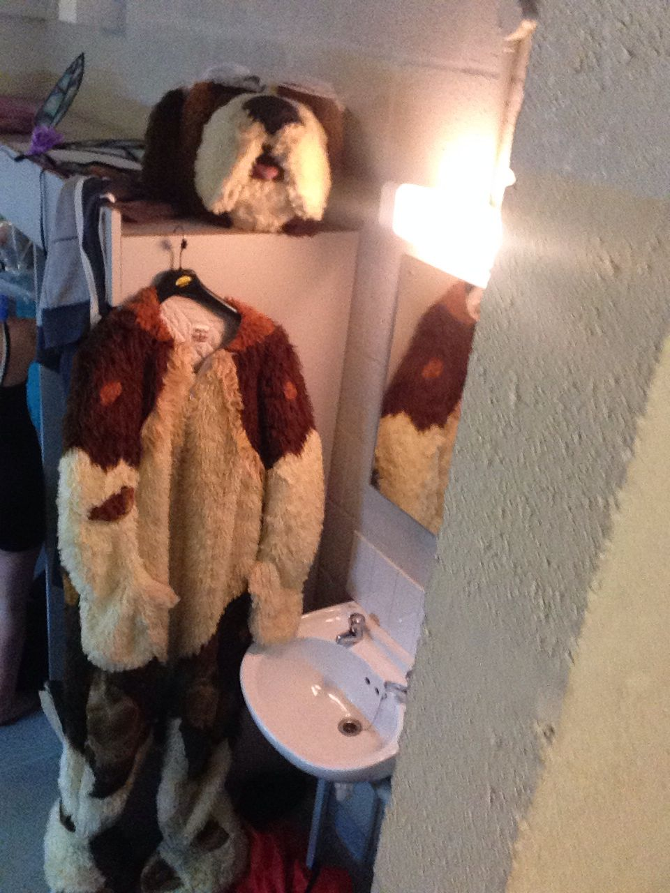 My nana the dog costume x | Peter Pan the musical 2014 ...