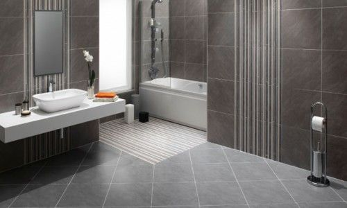 gray tile - Google Search | DLUX | Pinterest | Grey tiles and ...