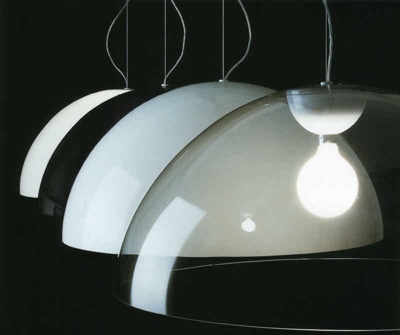 Oluce Vico Magistretti Design Sonora Pendant Lamp Luces Lamparas Iluminacion