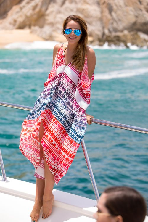 Fashion Summer Women Beach Dress Y V Neck Strap Red Chiffon Boho Long Dresses In Stock