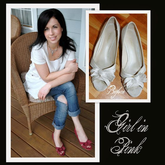 Painting Leather Shoes With Chalk Paint