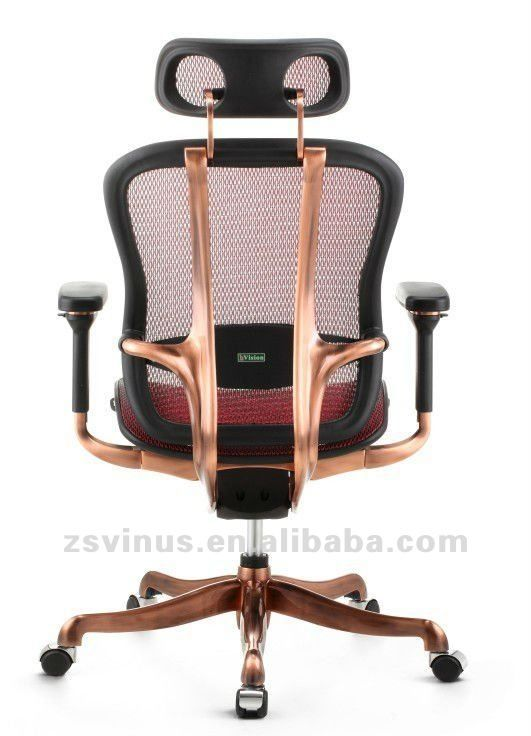 Copper Desk Chair Gold Office Chair Copper Decor Copper Office