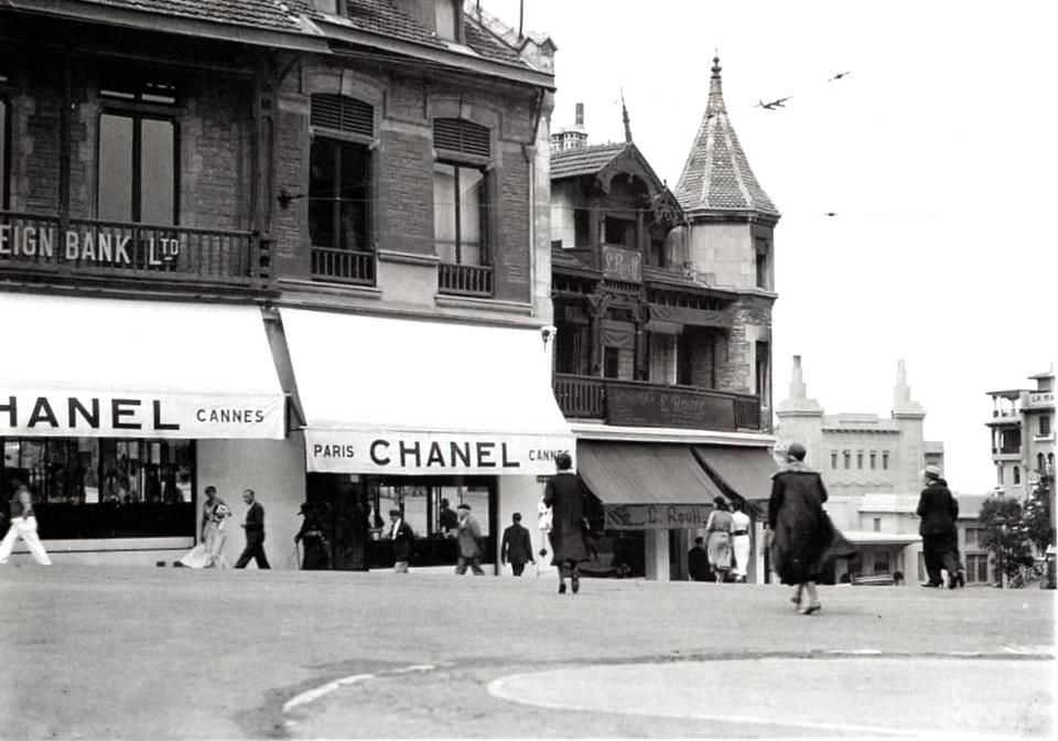 Chanel in Biarritz (Atlantic Coast - France) 1915 Séeberger
