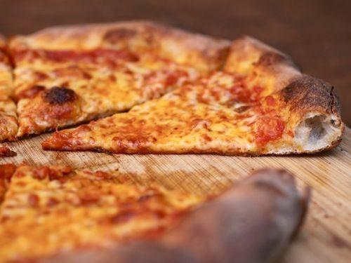 NY pizza crust in food processor