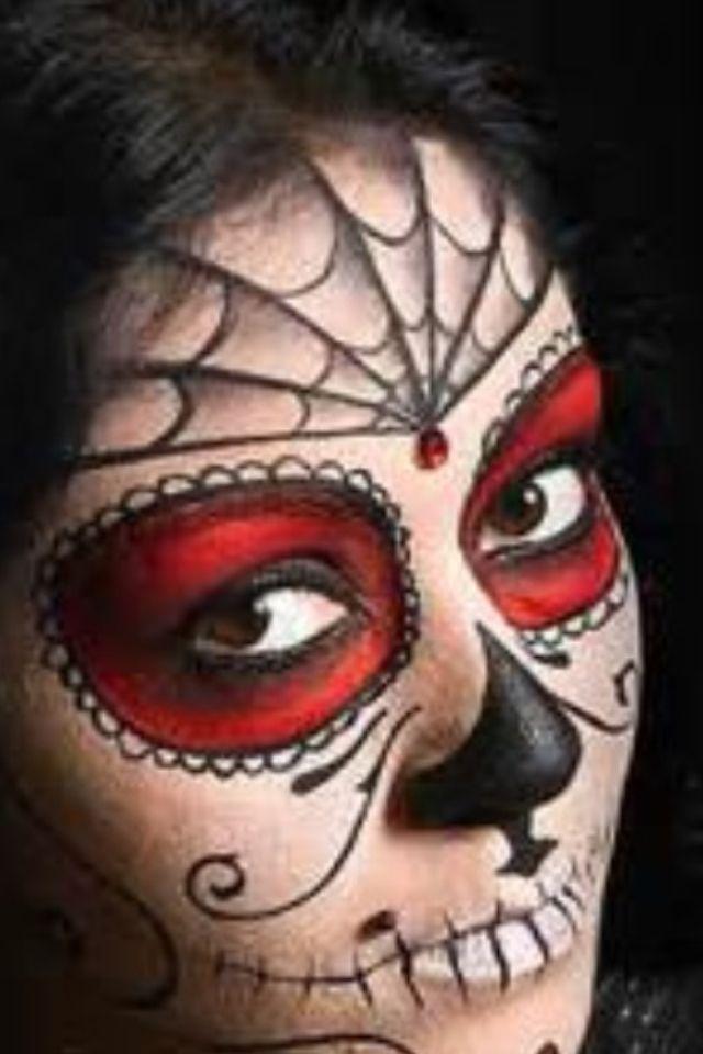 60 Extraordinary Face Painting Ideas Halloween Pinterest Face - face painting halloween ideas