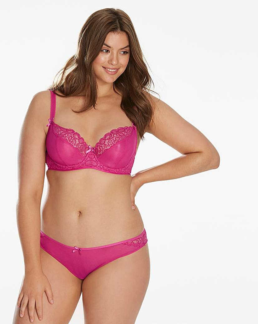 16c75a60d5371 Curvy Kate Ellace Hot Pink Balcony Bra in 2019 | Girls sweet | Pink ...