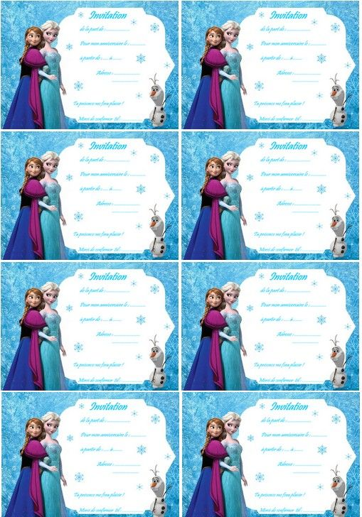 Coloriage Carte Anniversaire Reine Des Neige Avec Olaf Et Anna