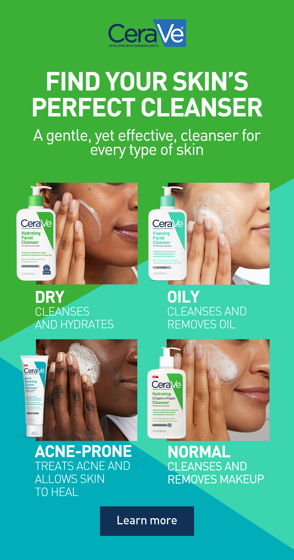 Find The Right Cleanser For Your Skin Type