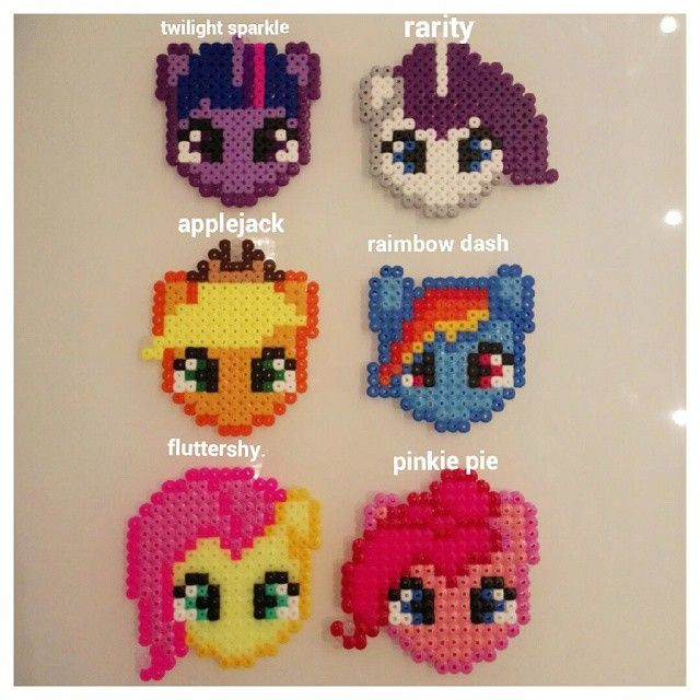 My Little Pony Hama Perler Beads By Latanadelconiglio Perler